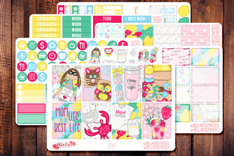 Mom Life Planner Sticker Kit SP309