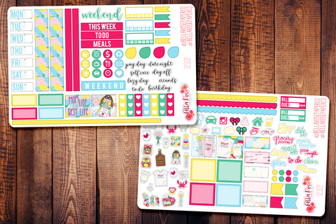 Mom Life Hobonichi Weeks Sticker Kit SP309