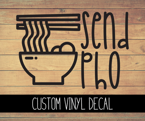 Send Pho Vinyl Decal