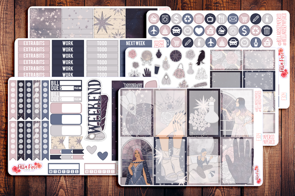 Palm Reader Planner Sticker Kit F304