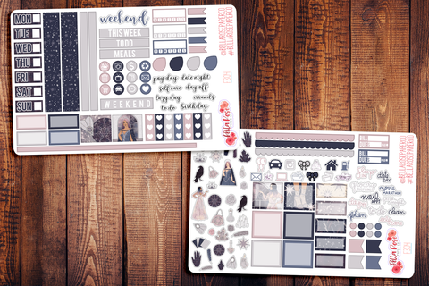 Palm Reader Hobonichi Weeks Sticker Kit F304