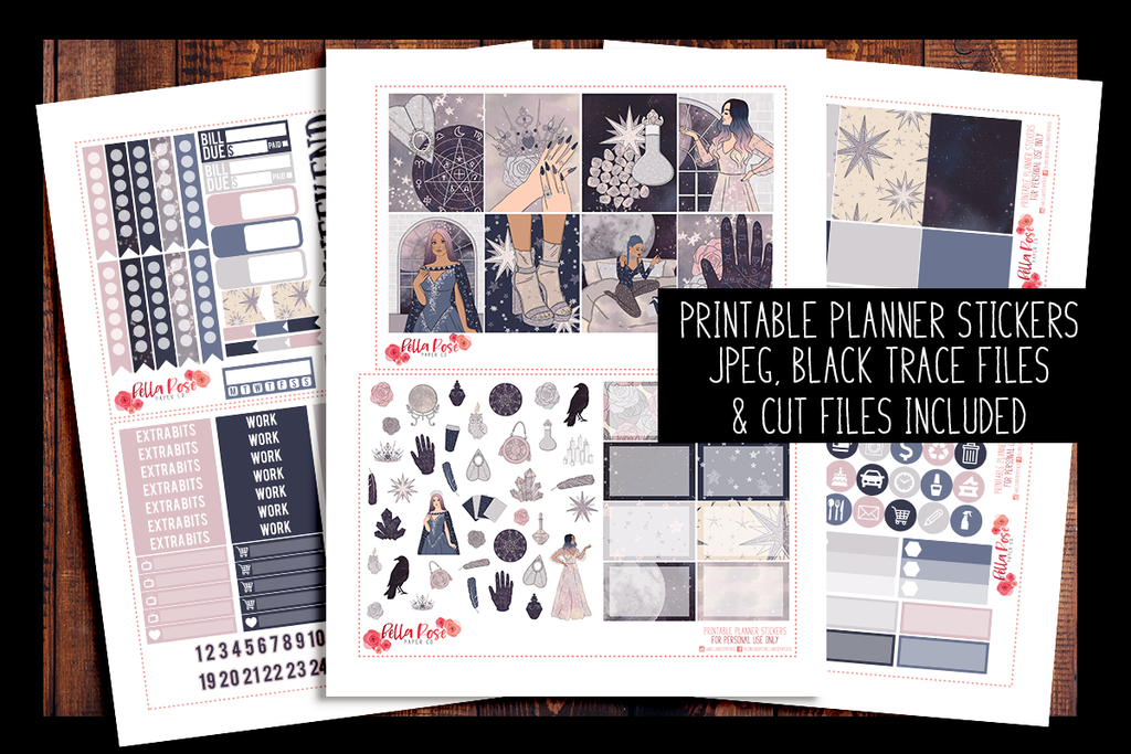 Palm Reader Planner Kit | PRINTABLE PLANNER STICKERS