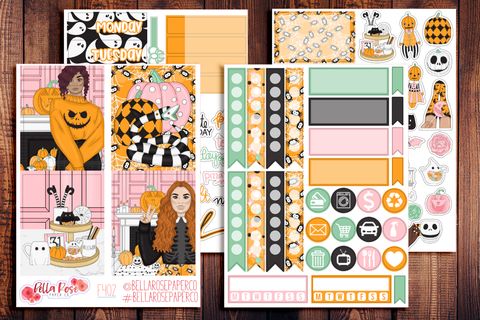 Halloween Sweets Mini Sticker Kit F402