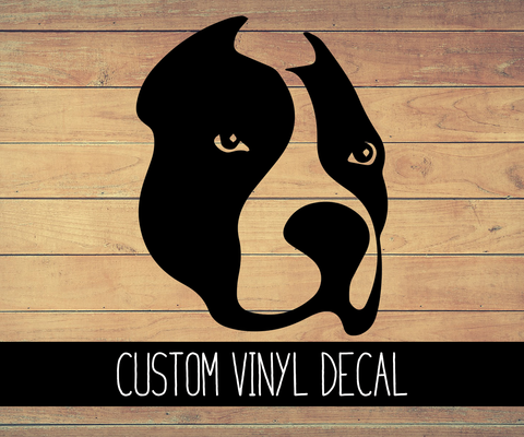 Pitbull Vinyl Decal