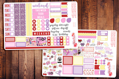 Throwback Hobonichi Weeks Sticker Kit SP312