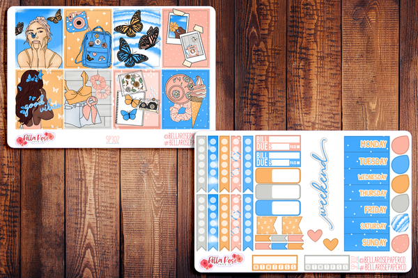 First Day Of Spring Planner Sticker Kit SP302