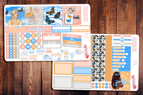 First Day Of Spring Mini Happy Planner Sticker Kit SP302