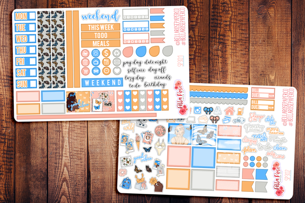 First Day Of Spring Hobonichi Weeks Sticker Kit SP302