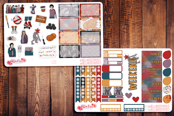 The Upside Down Planner Sticker Kit F210