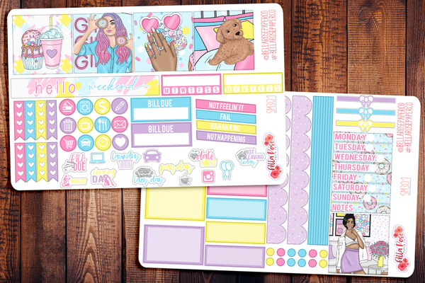 Sweet Summer Mini Happy Planner Sticker Kit SM301