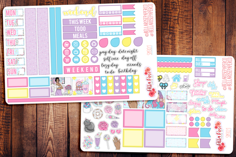 Sweet Summer Hobonichi Weeks Sticker Kit SM301