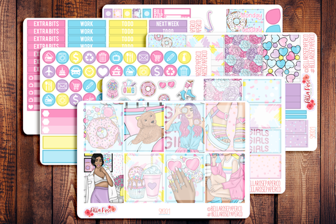Sweet Summer Planner Sticker Kit SM301