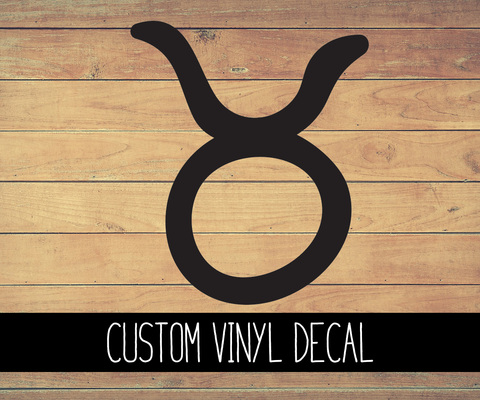 Taurus Sign Vinyl Decal