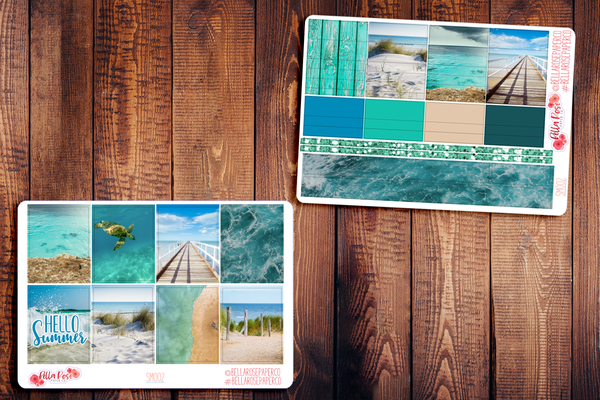 Beach Photography Planner Sticker Kit SM002