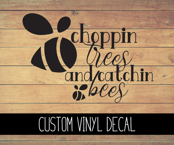 Choppin' Trees Animal Crossing Vinyl Decal