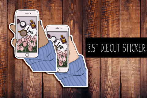 Fashion Blogger Diecut Sticker