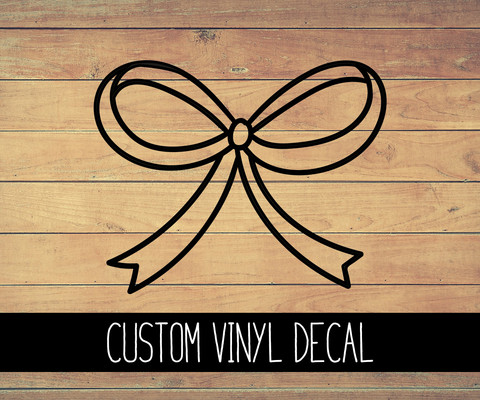 Signature Bow Vinyl Decal