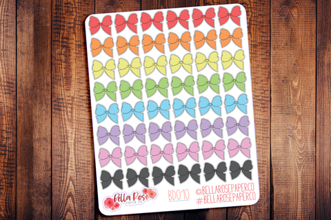 Big Bow Icon Planner Stickers BD011
