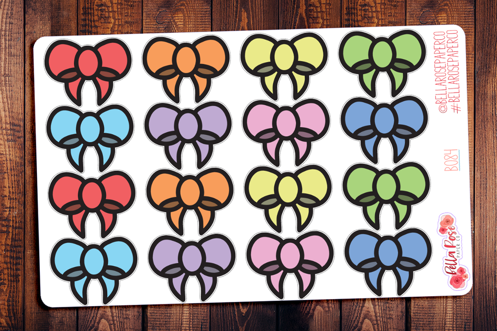 BRPC Official Bow Seal Planner Stickers B084