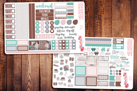 School Babe Hobonichi Weeks Sticker Kit SM207