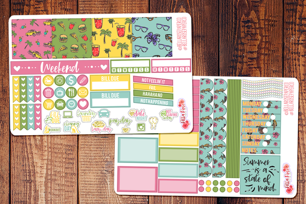 California Love Mini Happy Planner Sticker Kit