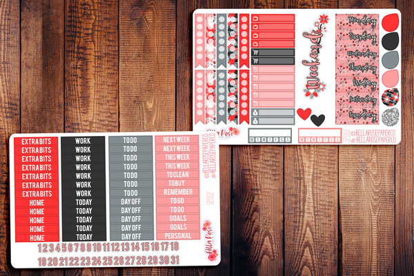 Cherry Blossom Planner Sticker Kit SP007