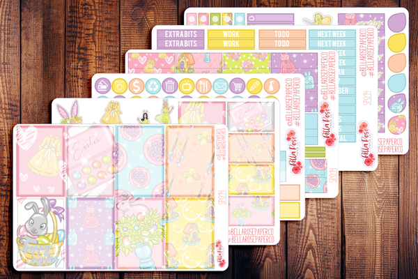 Happy Easter Planner Sticker Kit SP014
