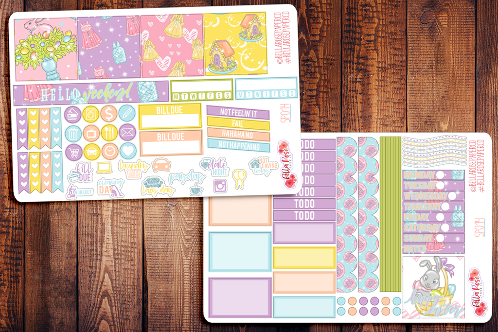 Happy Easter Mini Happy Planner Sticker Kit SP014