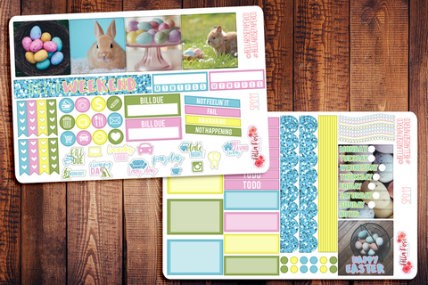 Easter Photography Mini Happy Planner Sticker Kit SP011