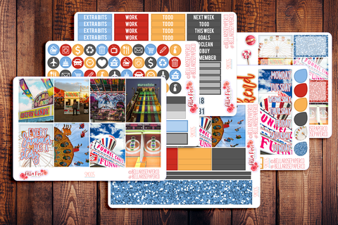 County Fair Photography Planner Sticker Kit SM005