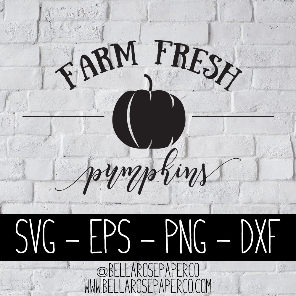 Farm Fresh Pumpkins | DIGITAL SVG BUNDLE