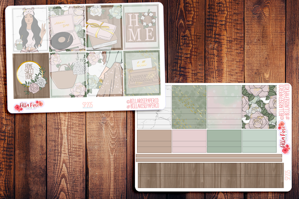 Farmhouse Planner Sticker Kit SP205
