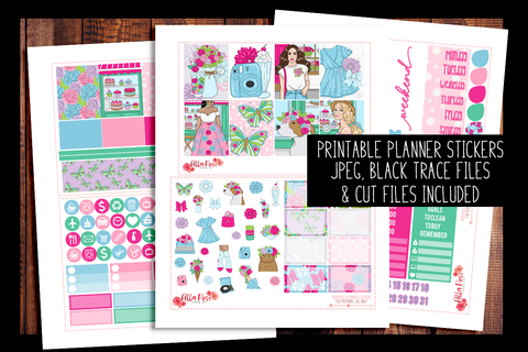 Floral Shop Planner Kit | PRINTABLE PLANNER STICKERS