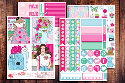 Floral Shop Mini Sticker Kit SP310