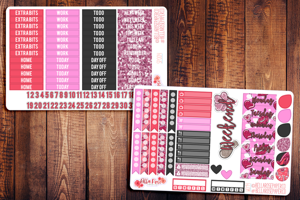 Galentine's Day Planner Sticker Kit SP004