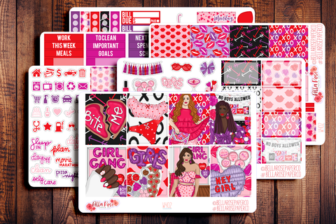 Girl Gang Planner Sticker Kit W402