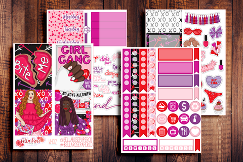 Girl Gang Mini Sticker Kit W402