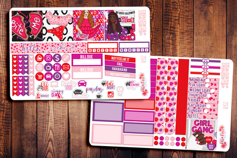 Girl Gang Mini Happy Planner Sticker Kit W402