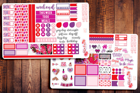 Girl Gang Hobonichi Weeks Sticker Kit W402