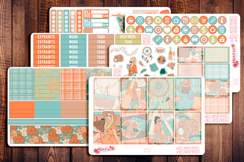 Adventure Awaits Planner Sticker Kit SP207