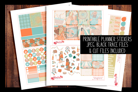 Adventure Awaits Planner Kit | PRINTABLE PLANNER STICKERS