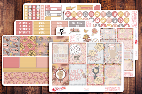 GrlPwr Planner Sticker Kit SP206