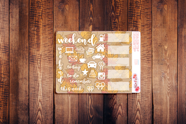 Hobonichi Weeks Kit Sampler Stickers H003