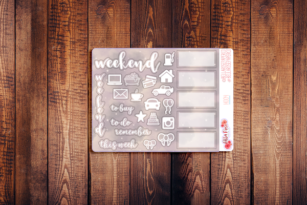 Hobonichi Weeks Kit Sampler Stickers H004