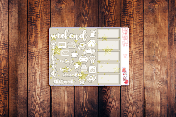 Hobonichi Weeks Kit Sampler Stickers H008