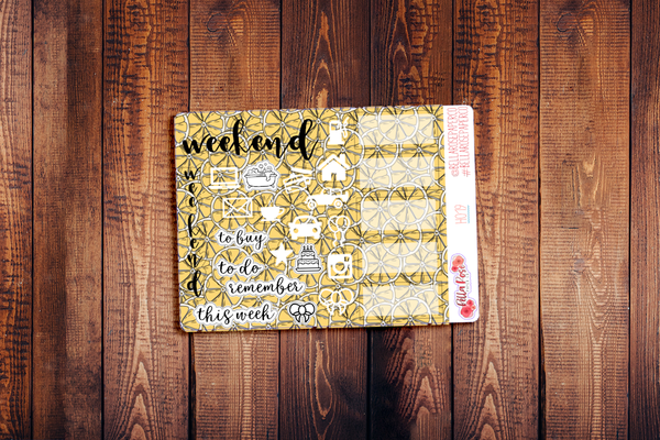 Hobonichi Weeks Kit Sampler Stickers H019