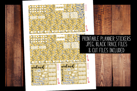 Hobonichi Weeks Sampler Kit H019 | PRINTABLE PLANNER STICKERS