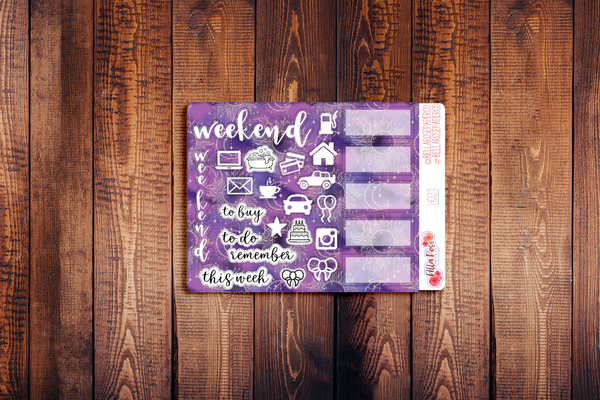 Hobonichi Weeks Kit Celestial Sampler Stickers H021