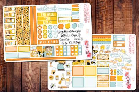 Honey Hobonichi Weeks Sticker Kit W403