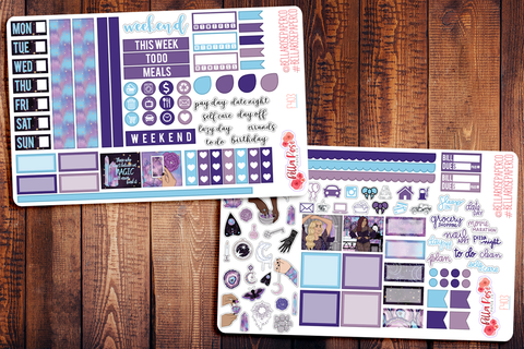 Believe in Magic Hobonichi Weeks Sticker Kit F403